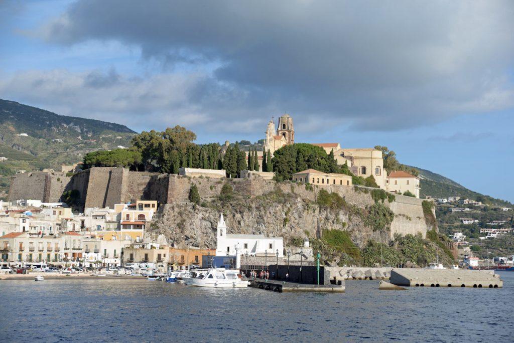 isole eolie castello lipari