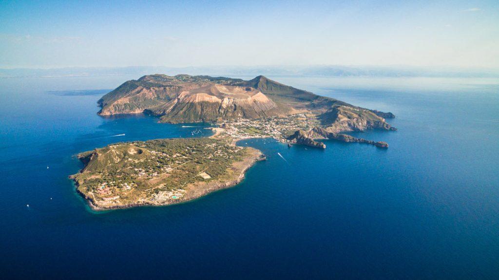 isola di vulcano