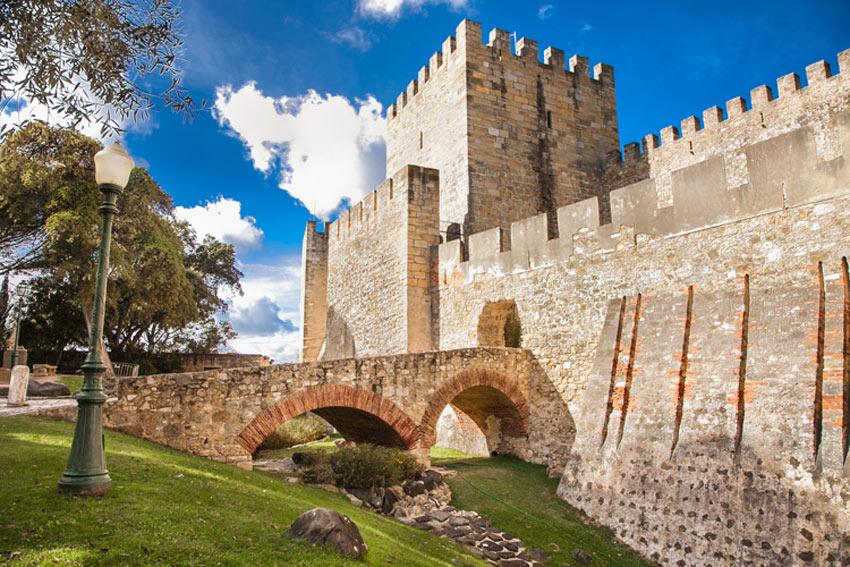 castello sao jorge lisbona