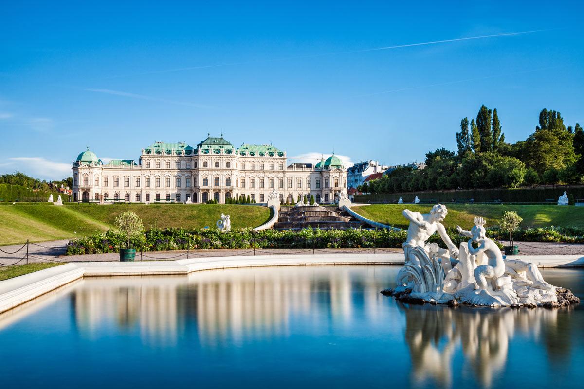 castello belvedere vienna